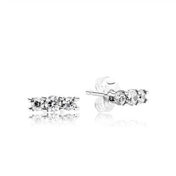 Pandora Sparkling Elegance Stud Earrings 290725CZ