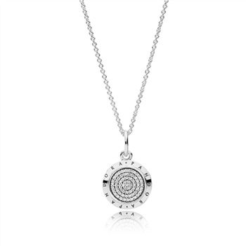 Pandora Signature PANDORA Necklace 390375CZ