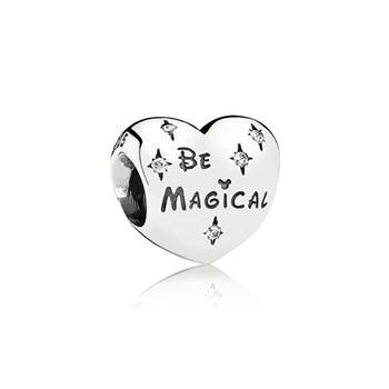 Pandora Disney Be Magical Heart Charm 791439CZ