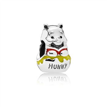 Pandora Disney, Honey Pot Pooh Charm, Mixed Enamel 791919ENMX