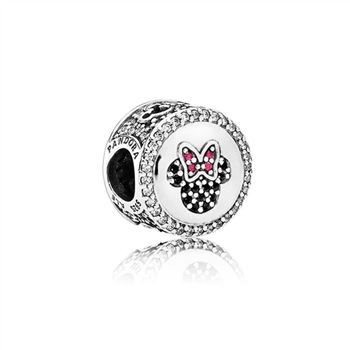 Pandora Mickey & Minnie Sparkling Icons - Limited Edition Disney Charm USB796900
