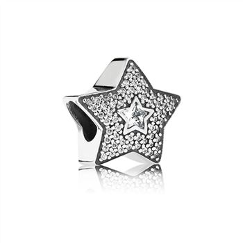 Pandora Wishing Star, Clear CZ 791384CZ