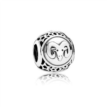 Pandora Aries Star Sign Charm 791936