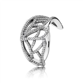 Pandora New Beginning Butterfly Ring, Clear CZ 190937CZ