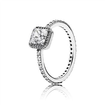 Pandora Timeless Elegance Ring, Clear CZ 190947CZ