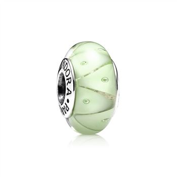 Pandora Green Looking Glass Murano Charm 790925