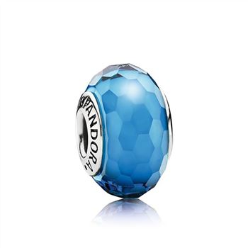 Pandora Fascinating Aqua Charm, Murano Glass 791607
