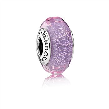 Pandora Purple Shimmer Charm, Murano Glass 791651