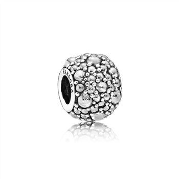 Pandora Shimmering Droplets Charm, Clear CZ 791755CZ