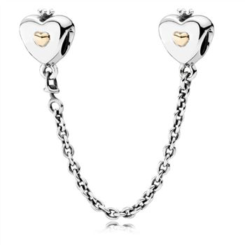 Pandora Heart & Crown Safety Chain 791878