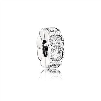 Pandora Alluring Cushion Spacer Charm 791252CZ