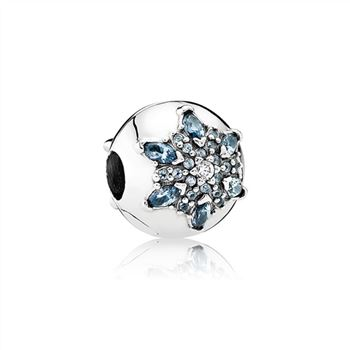 Pandora Crystalized Snowflake, Multi-Colored Crystal & Clear CZ 791997NMB