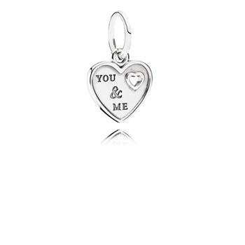 Pandora Together Forever Hanging Charm - PANDORA 791430