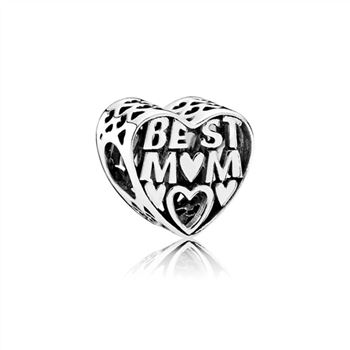 Pandora Best Mother Openwork Heart Charm 791882